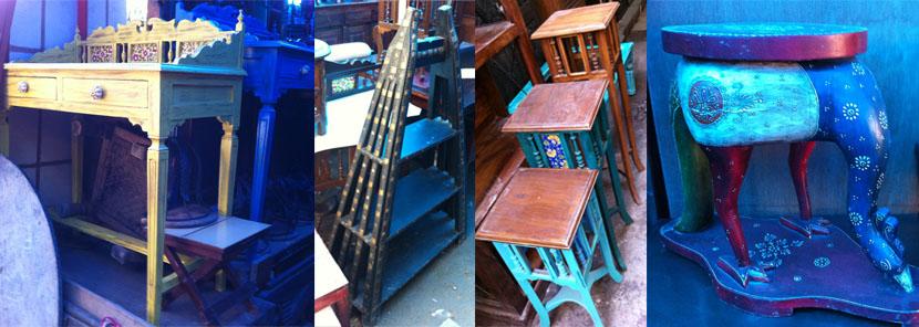 Amar Colony Furniture Market, Delhi