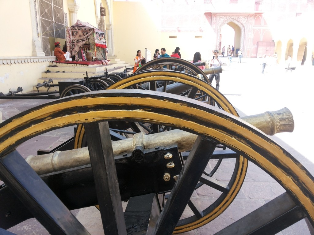 City Palace Cannons, Jaipur