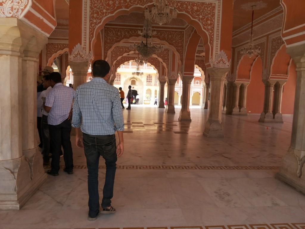 City Palace Corridor Jaipur