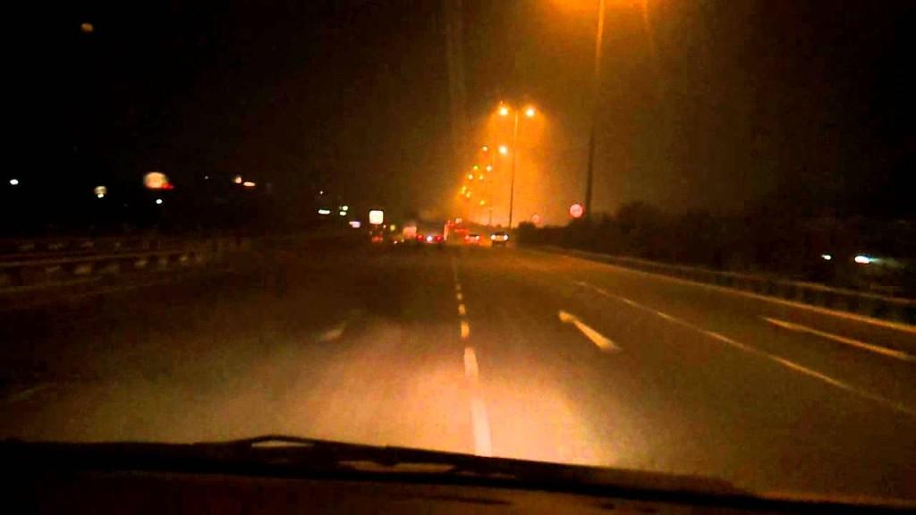Delhi Jaipur Expressway at Night
