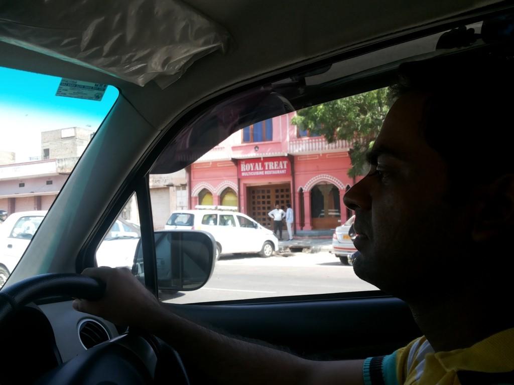 Driving in Jaipur
