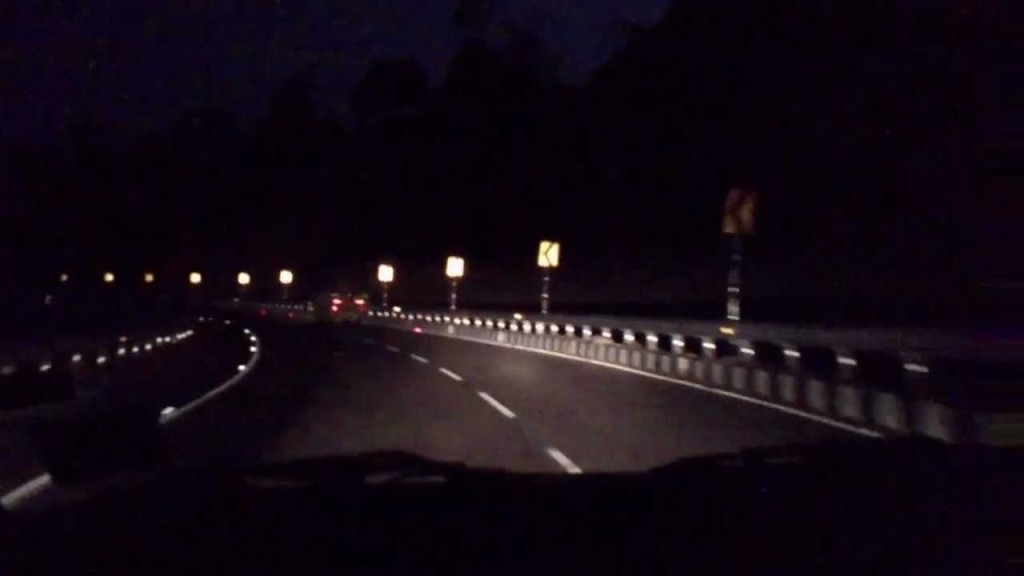 Hamirpur Highway at Night