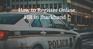 How to Register Online FIR in Jharkhand