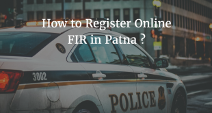 How to Register Online FIR in Patna