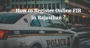 How to Register Online FIR in Rajasthan