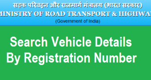 How to Search Vehicle Details by Registration Number