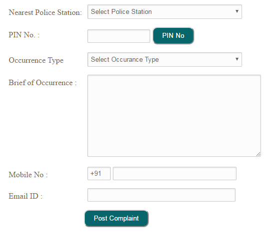 Online FIR Registration in Patna