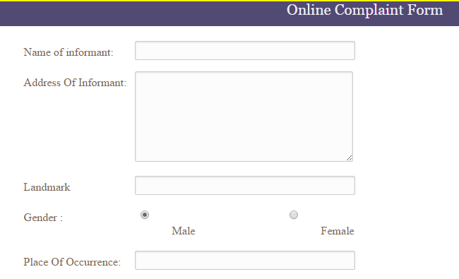 Online FIR in Patna