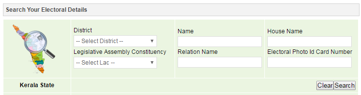Search your Name in Electoral Roll of Kerala