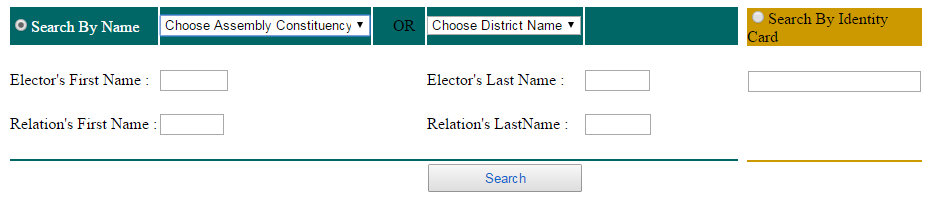 Search your Name in Electoral Roll of Orissa