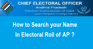 Search your Name in Electoral Roll or Voter List of Andhra Pradesh