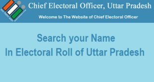 Search your Name in Electoral Roll or Voter List of Uttar Pradesh