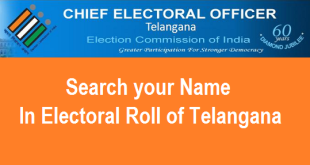 Search your Name in Voter List or Electoral Roll of Telangana