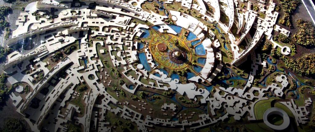 Auroville Aerial View