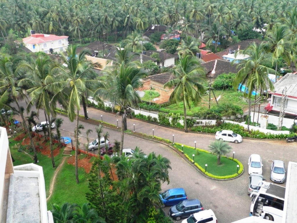 Bogmallo Resort Goa Parking
