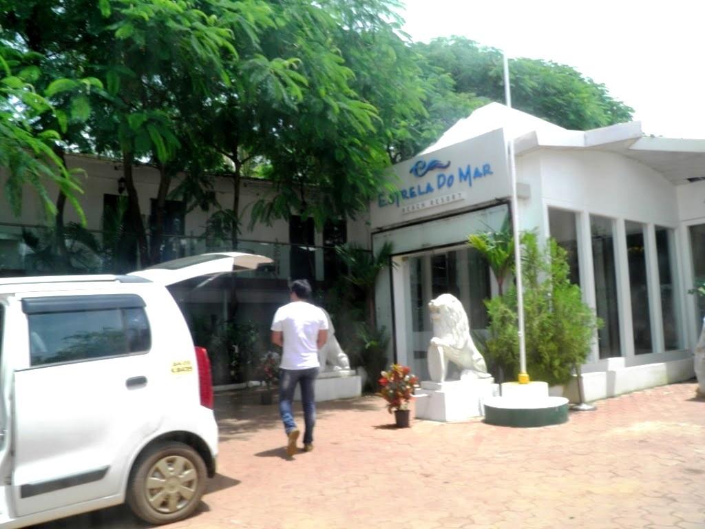 Estrela Do Mar Beach Resort Goa Entrance