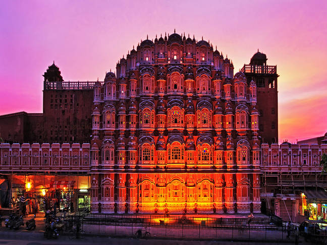 Hawa Mahal Evening View