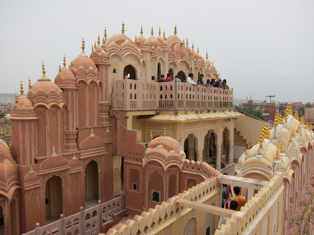 Hawa Mahal Inside View