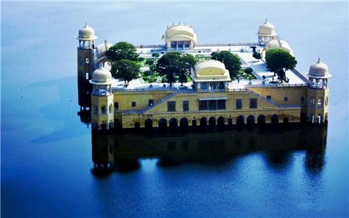 Jal Mahal Aerial View