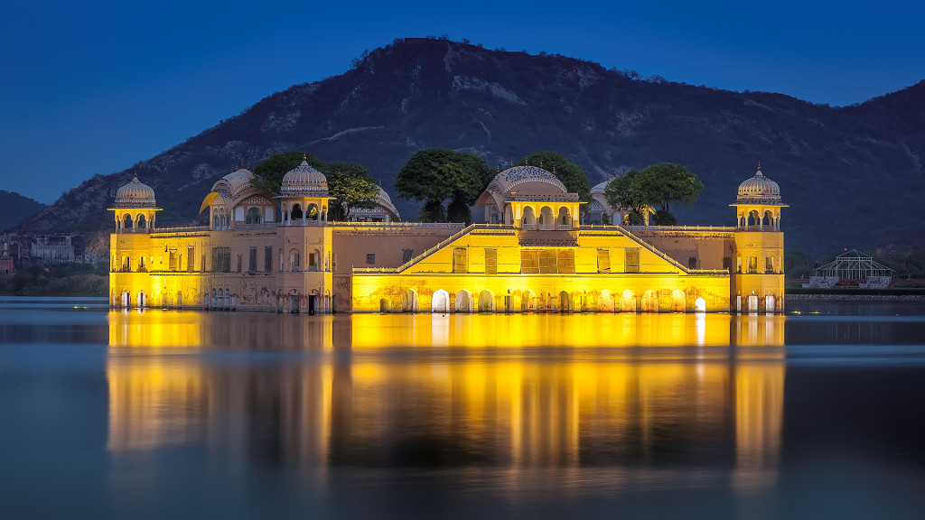 Jal Mahal Night View