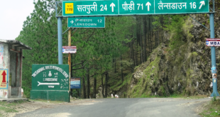 Best Road Route from Delhi to Lansdowne