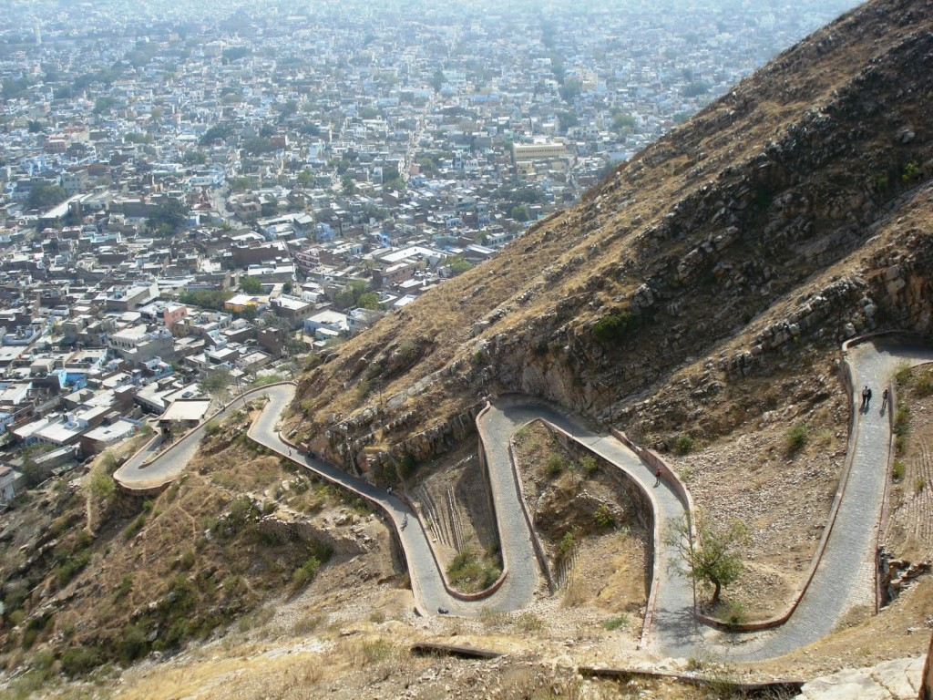 Nahargarh Fort Road
