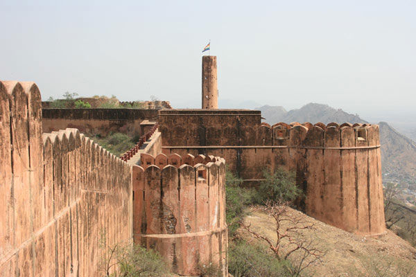 Nahargarh Fort Side View