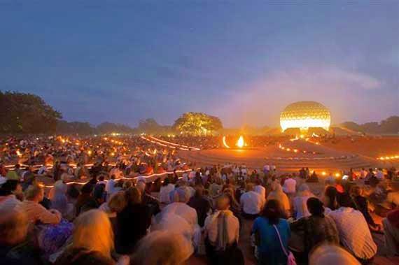 People in Auroville