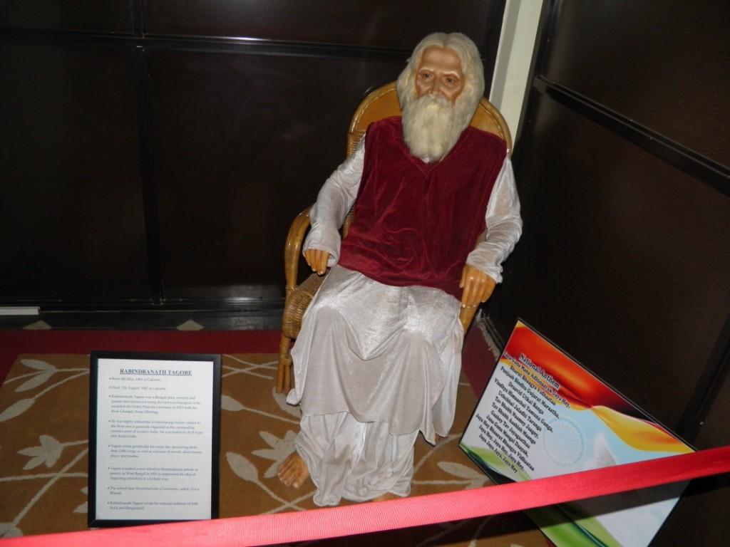 Rabindra Nath Tagore Wax Statue