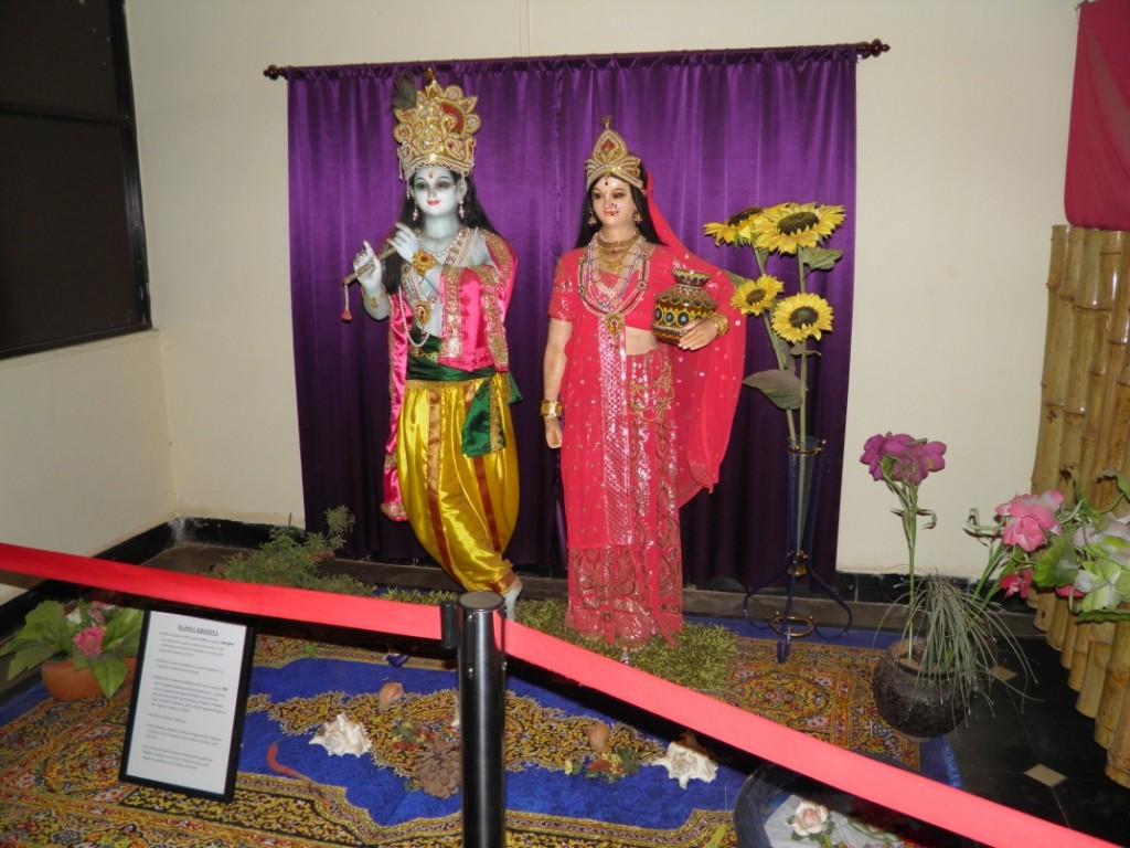 Radha Krishna Wax Statue
