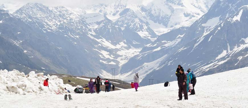 Rohtang Pass near Manali