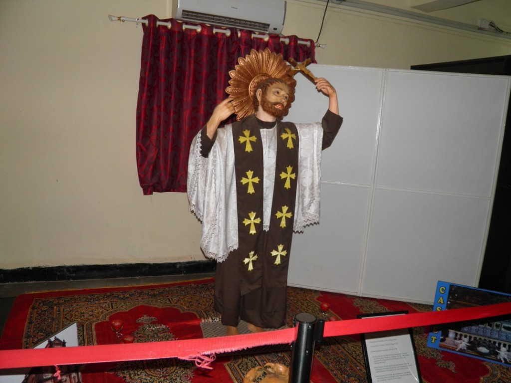 Saint Francis Xavier Wax Statue