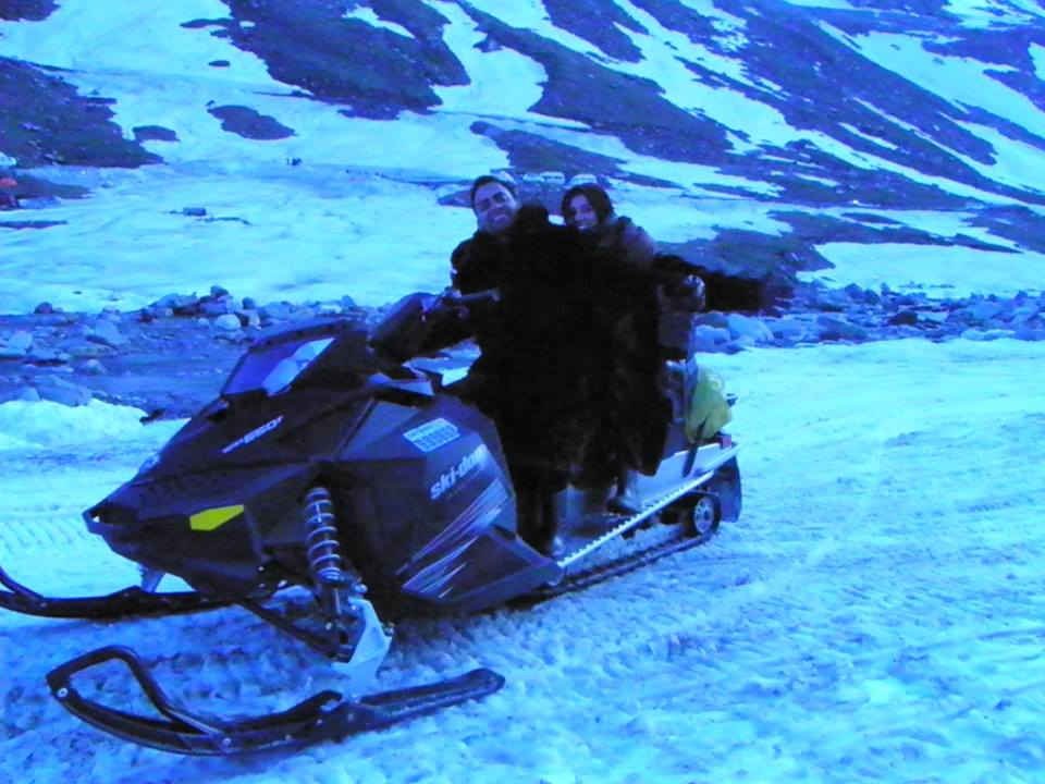 Snow Bike in Rohtang Pass