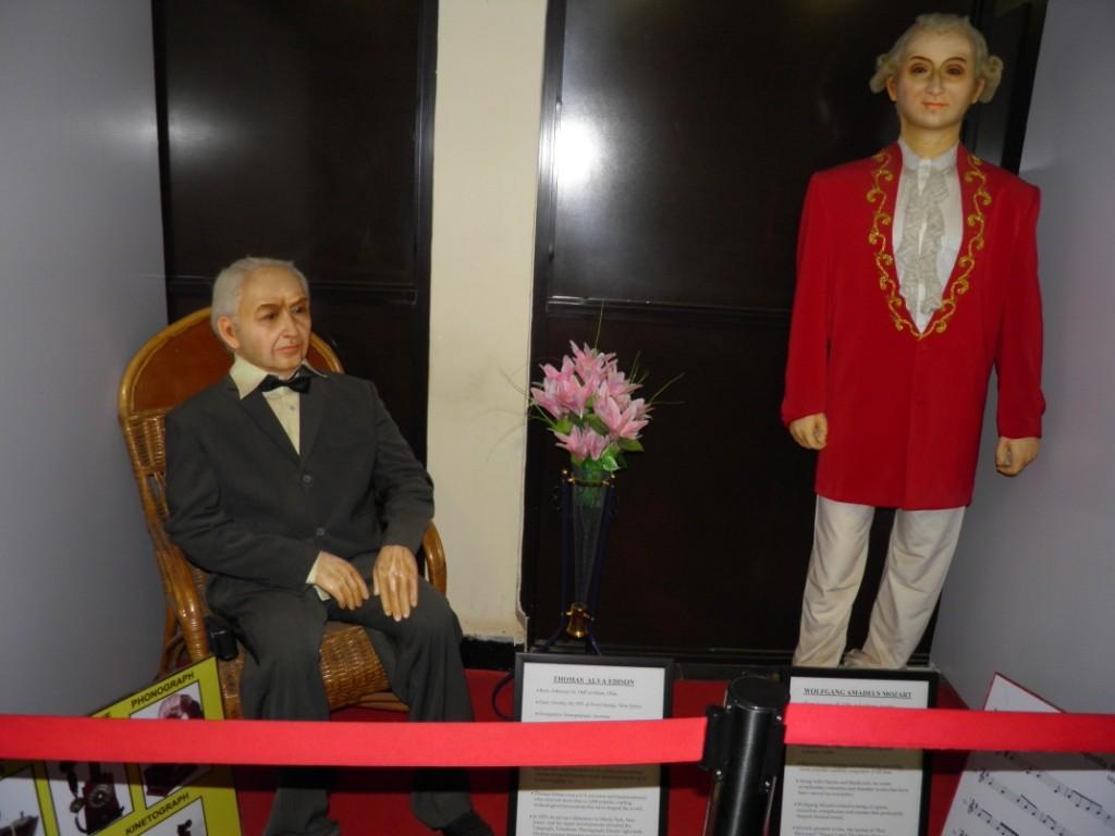 Thomas Alva Edison & Wolfgang Amadeus Mozart