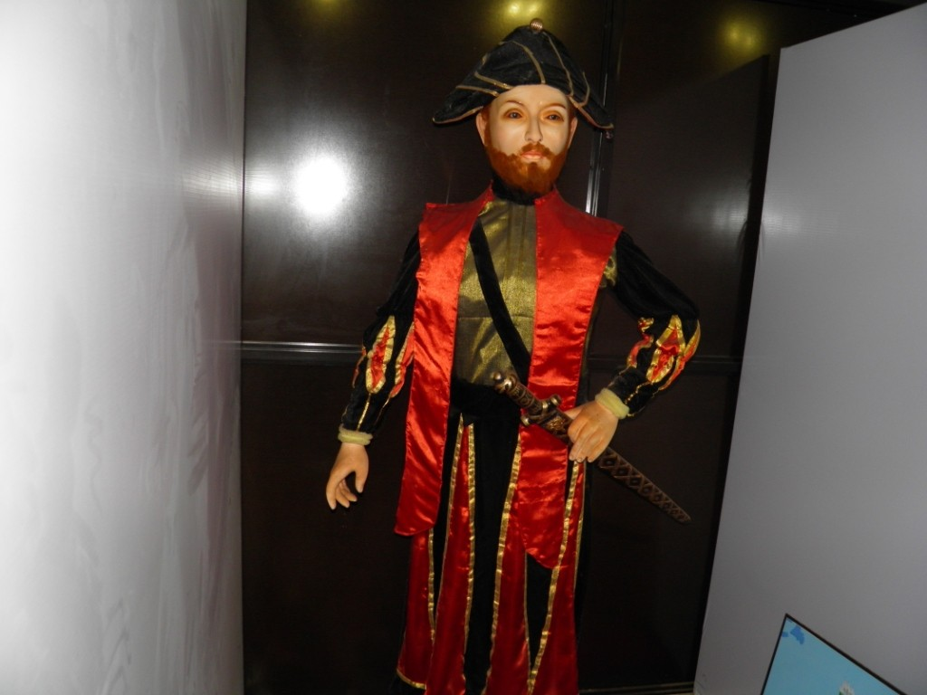Vasco Da Gama Wax Statue