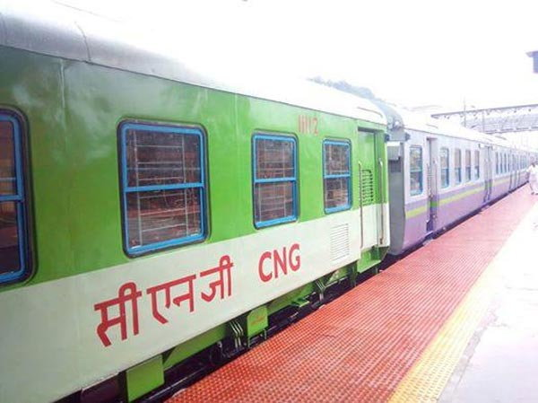 CNG Train in India
