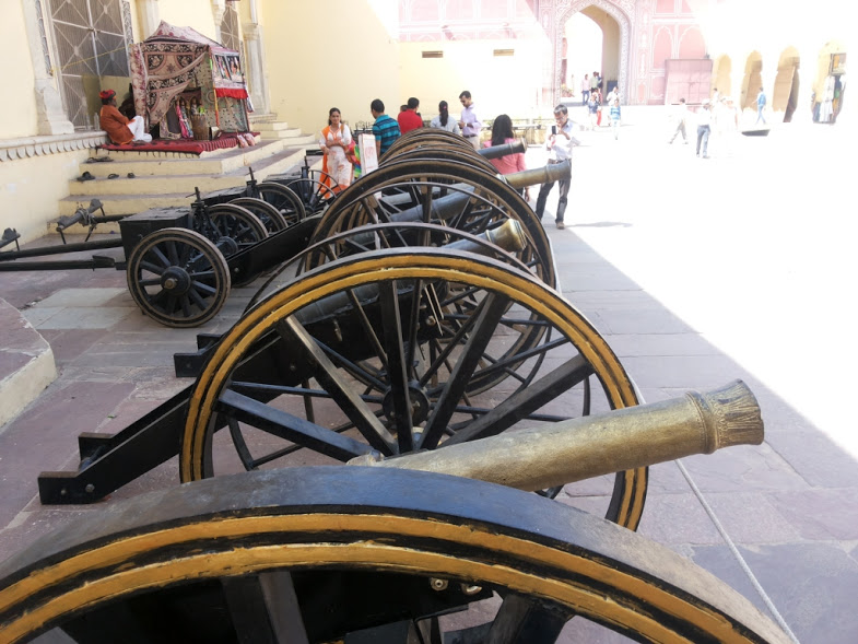 Cannons @ City Palace, Jaipur