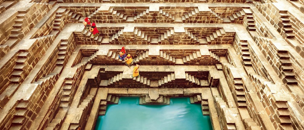 Chand Baori : One of the Oldest and Largest Stepwells in India