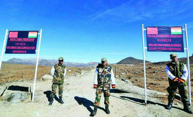 India China Chumar Border