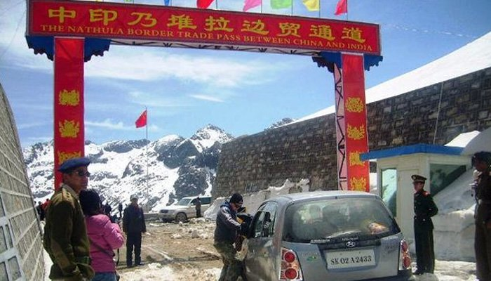 India China Nathu La Border