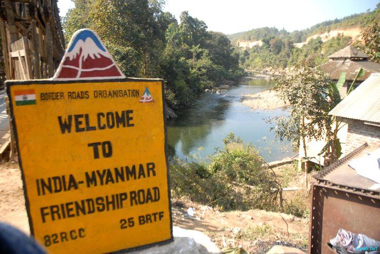 India Myanmar Border Nampong Arunachal Pradesh