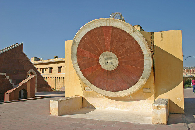 World's Largest Sundial at Jantar Mantar, Jaipur