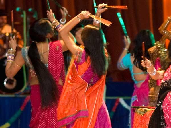 Dandiya in Navratri