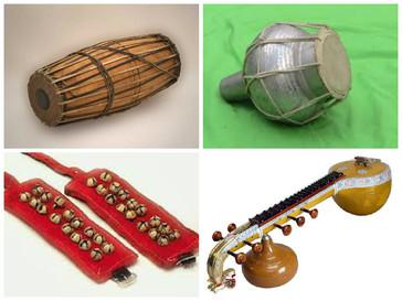 Kuchipudi Musical Instruments
