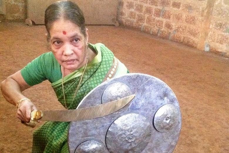 Meenakshi Amma Kalaripayattu
