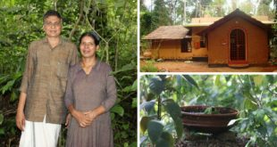 Nanavu - Hari and Asha's Eco-Friendly house in Kunnoor, Kerala