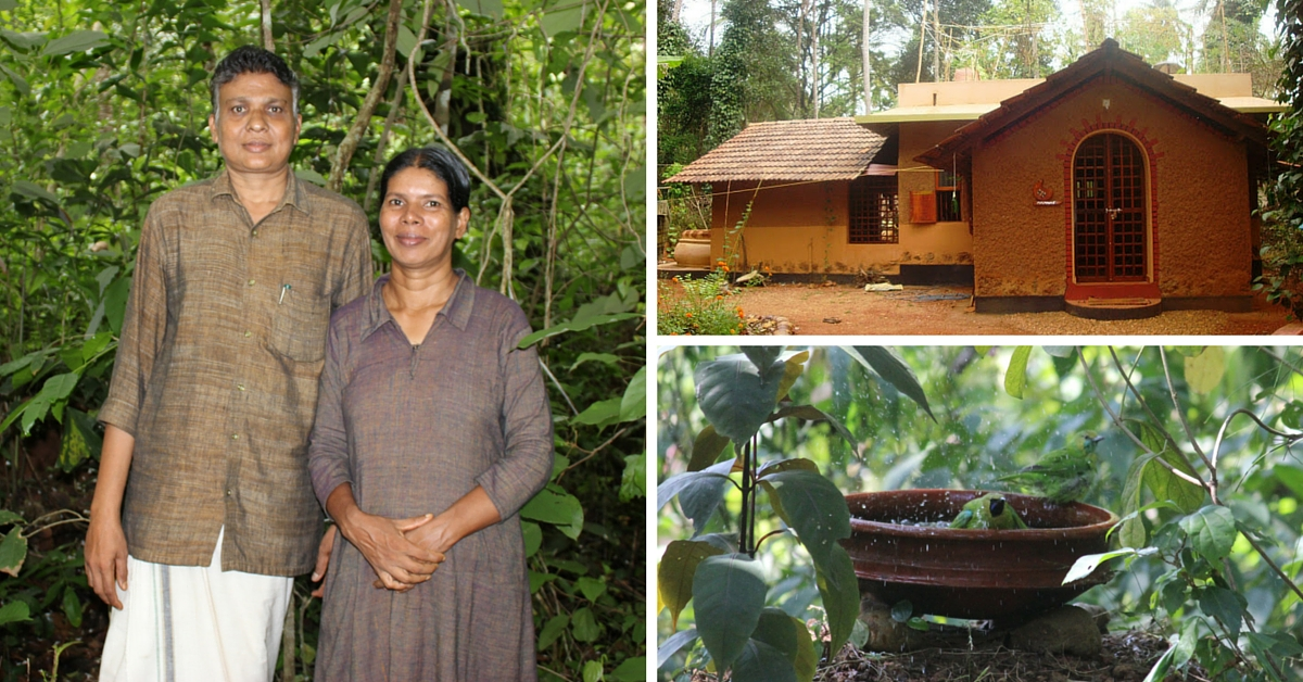 Nanavu – Hari and Asha's Eco-Friendly house in Kunnoor, Kerala