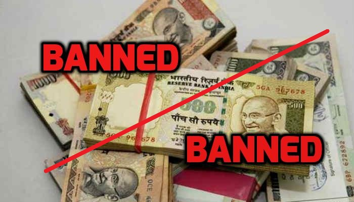 PM Modi bans Rs.500 and Rs.1000 currency notes in India !