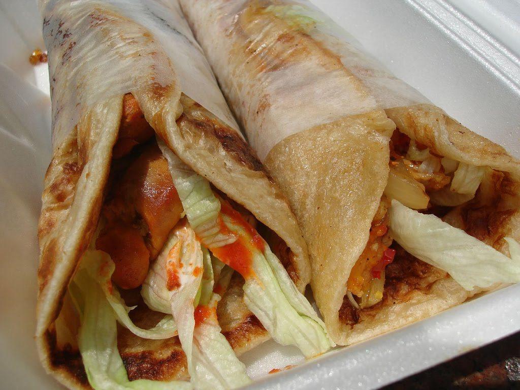 Parantha with Kebab