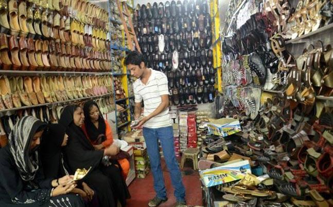 Shoe Market, Agra